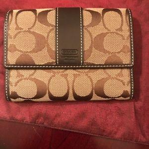 Coach wallet in brown